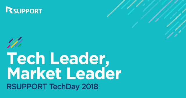 RSUPPORT TechDay 2018